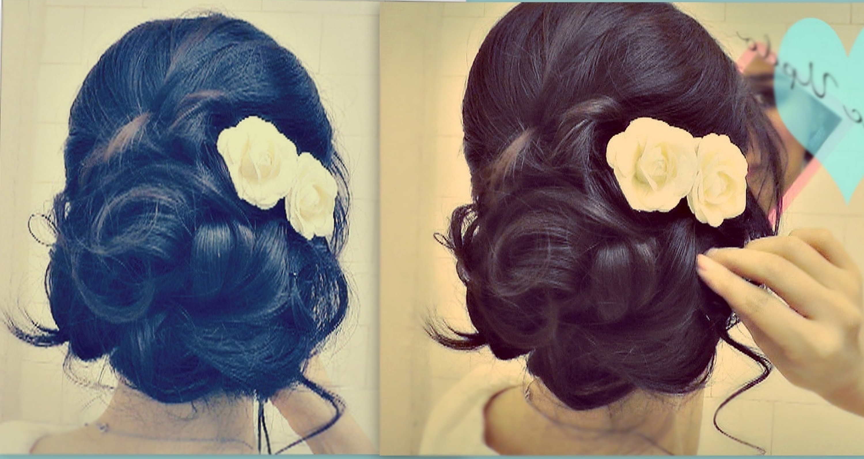 ☆ Easy Wedding Updo With Curls (View 1 of 15)