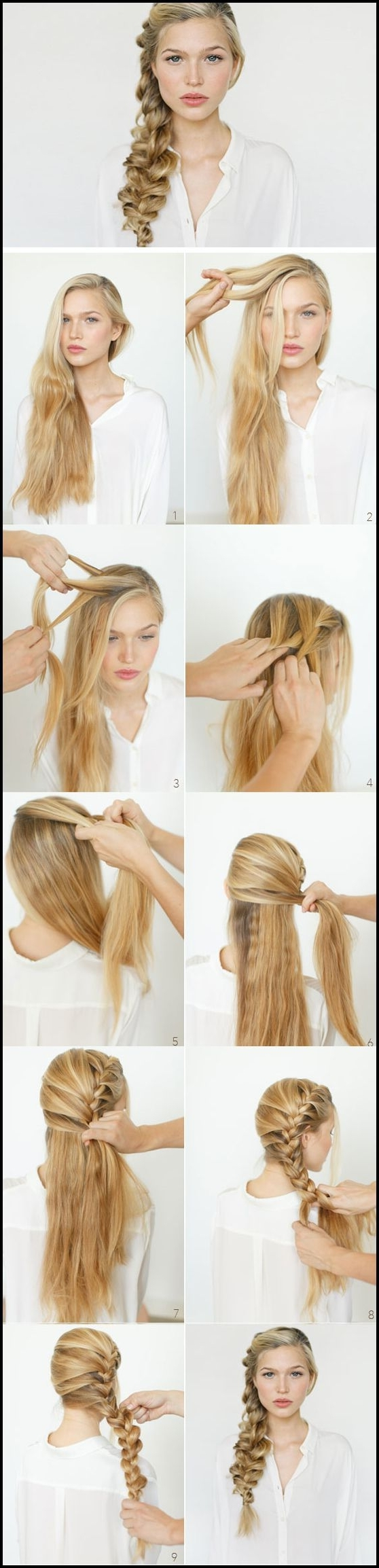 Easy Diy Wedding Hairstyles For Long Hair #frisuren #hairstyles 25+ In Well Known Diy Wedding Hairstyles For Long Hair (View 9 of 15)