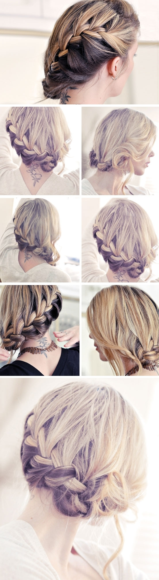 Easy Diy Wedding Hairstyles For Long Hair Intended For Widely Used Diy Wedding Updos For Long Hair (View 5 of 15)