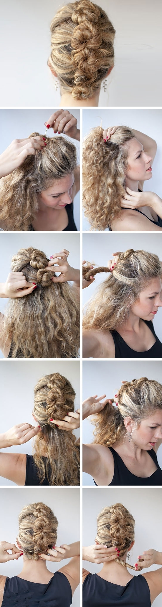 Easy Diy Wedding Hairstyles For Long Hair Regarding Famous Diy Wedding Hairstyles For Long Hair (View 11 of 15)