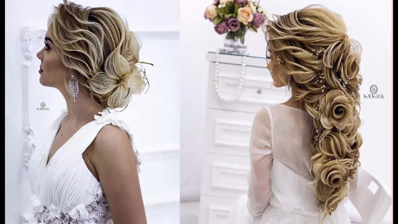 Elegant Bridal Hairstyles (View 14 of 15)