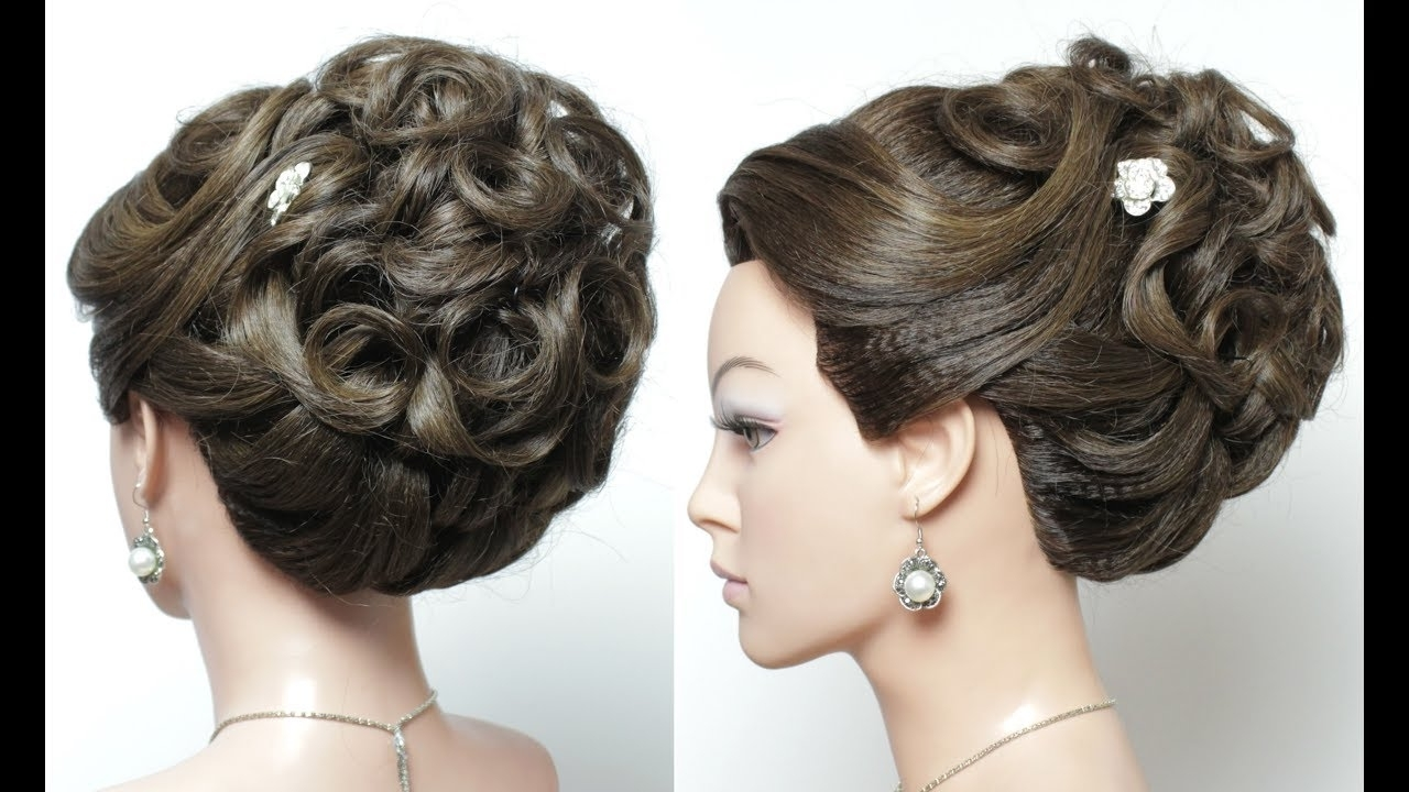 Elegant Bridal Prom Updo (View 2 of 15)