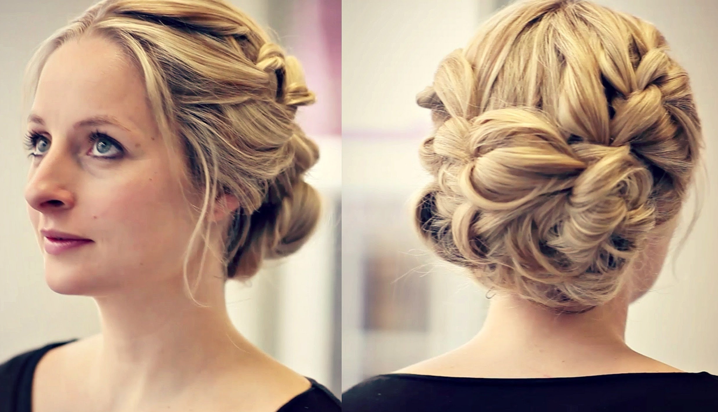 Enchanting Bride Updo Hairstyles Also Wedding Hairstyles Bridesmaid With Regard To Well Known Wedding Hairstyles For Bridesmaid (Gallery 7 of 15)