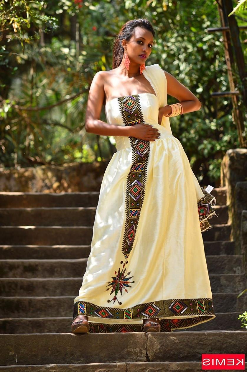 Eritrean Dress Zuria (View 15 of 15)
