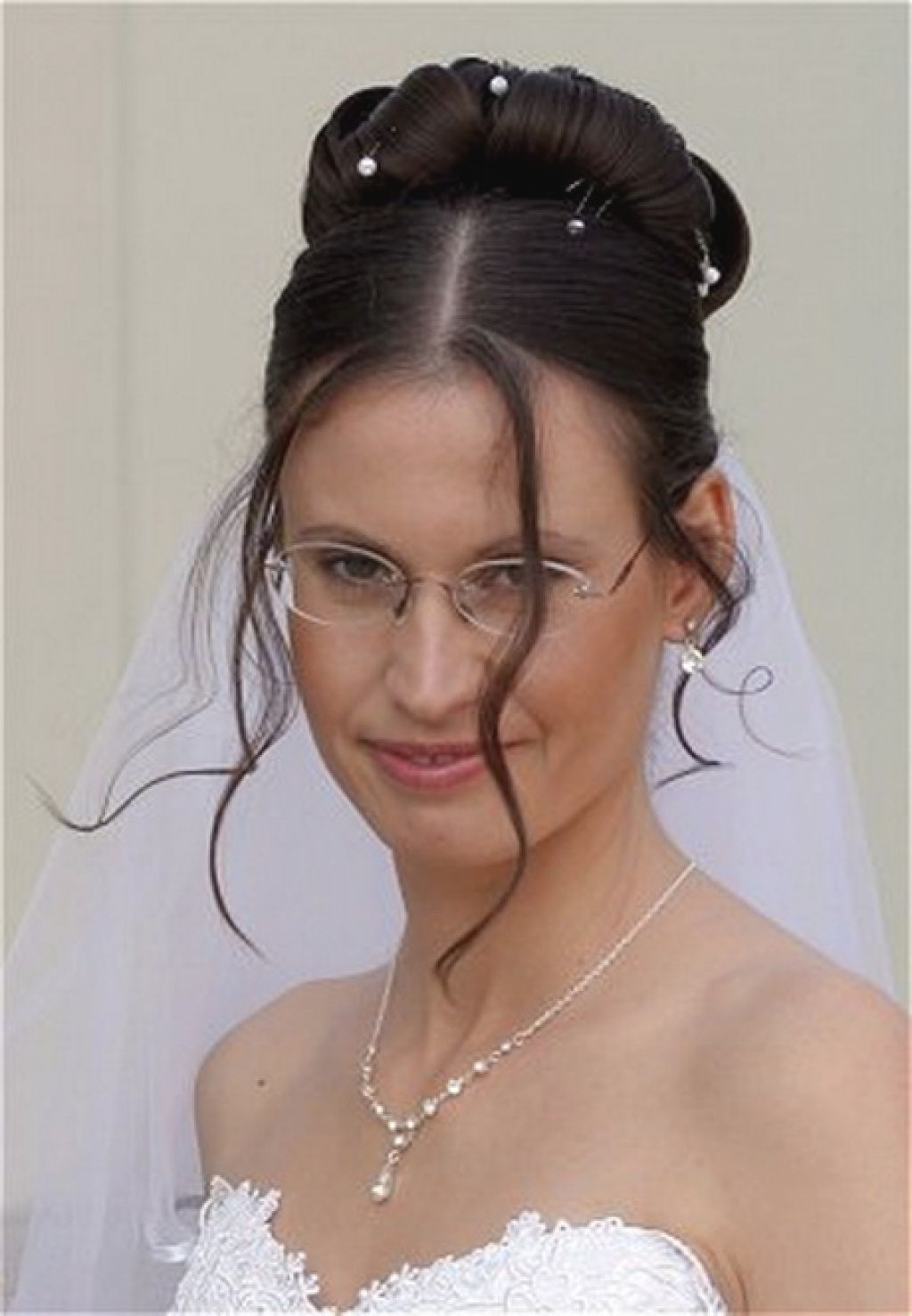 Featured Photo of Wedding Hairstyles With Glasses