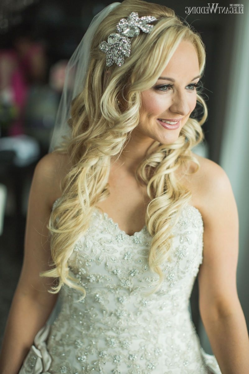 Fairytale Headpiece, Wedding Headpiece, Bridal Makeup And Hair With Regard To Most Recent Wedding Hairstyles For Blonde (View 8 of 15)