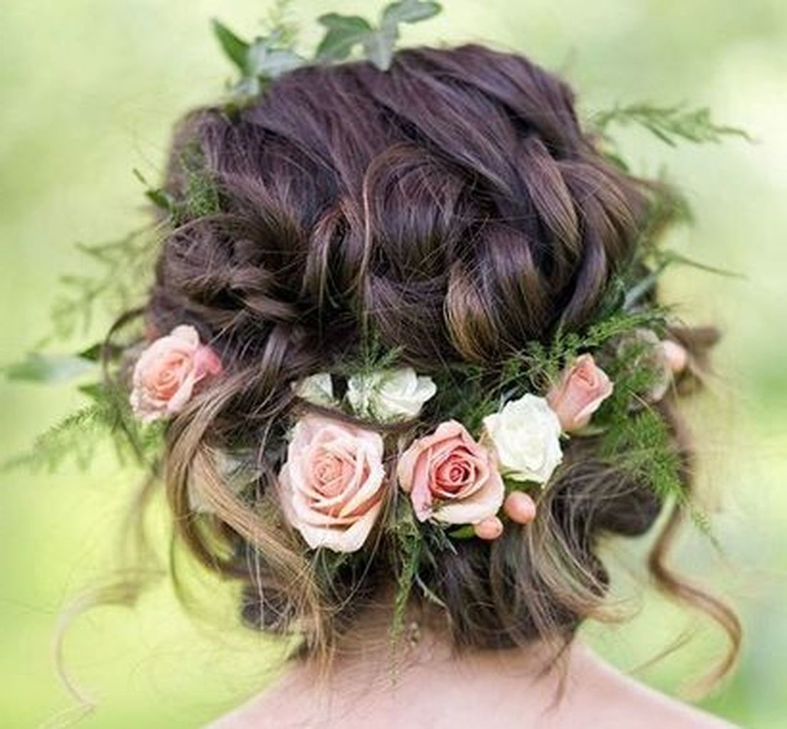 Famous Bohemian Wedding Hairstyles For Short Hair In 135 Stunning Bohemian Wedding Hairstyle Ideas Every Women Will Love (View 7 of 15)