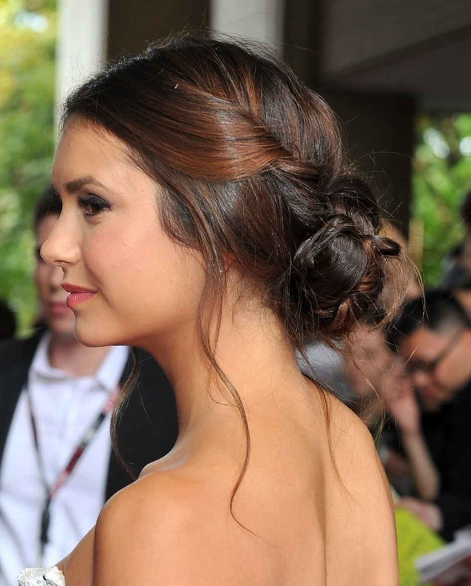 Famous Casual Wedding Hairstyles Within Wedding Hairstyles Ideas: Braided Up Do Casual Wedding Hairstyles (View 6 of 15)