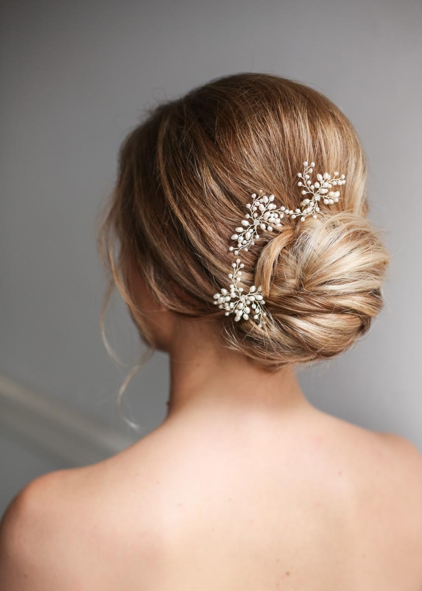 Famous Chignon Wedding Hairstyles Within Wedding Hair : Awesome Chignon Wedding Hair Pictures Your Wedding (View 14 of 15)