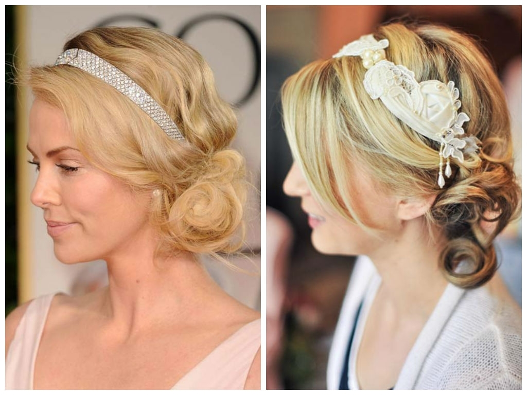 Famous Curly Side Bun Wedding Hairstyles Intended For Easy Updo Ideas For Short Hair – Hair World Magazine (View 14 of 15)