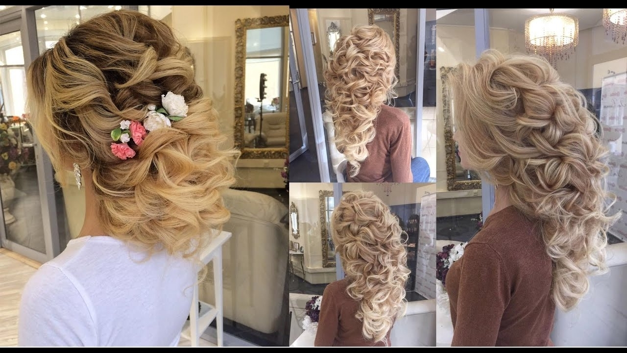 Famous Elstile Wedding Hairstyles For Long Hair Throughout Beautiful Wedding Hair Transformationselstile – Youtube (View 4 of 15)