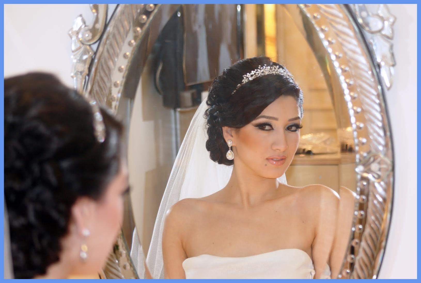 Famous Glamorous Wedding Hairstyles For Long Hair Regarding Marvelous Natural To Glamorous Wedding Bridal Hairstyles Image For (View 3 of 15)