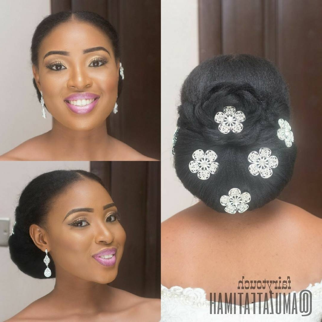 Famous Nigerian Wedding Hairstyles For Bridesmaids Intended For 6 Classy Natural Hairstyles For Nigerian Brides! (View 7 of 15)