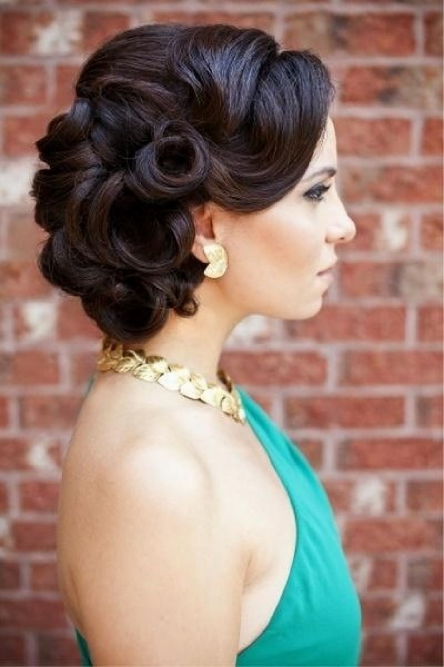 Famous Pin Up Wedding Hairstyles With Wedding Hairstyles Pin Up (View 9 of 15)