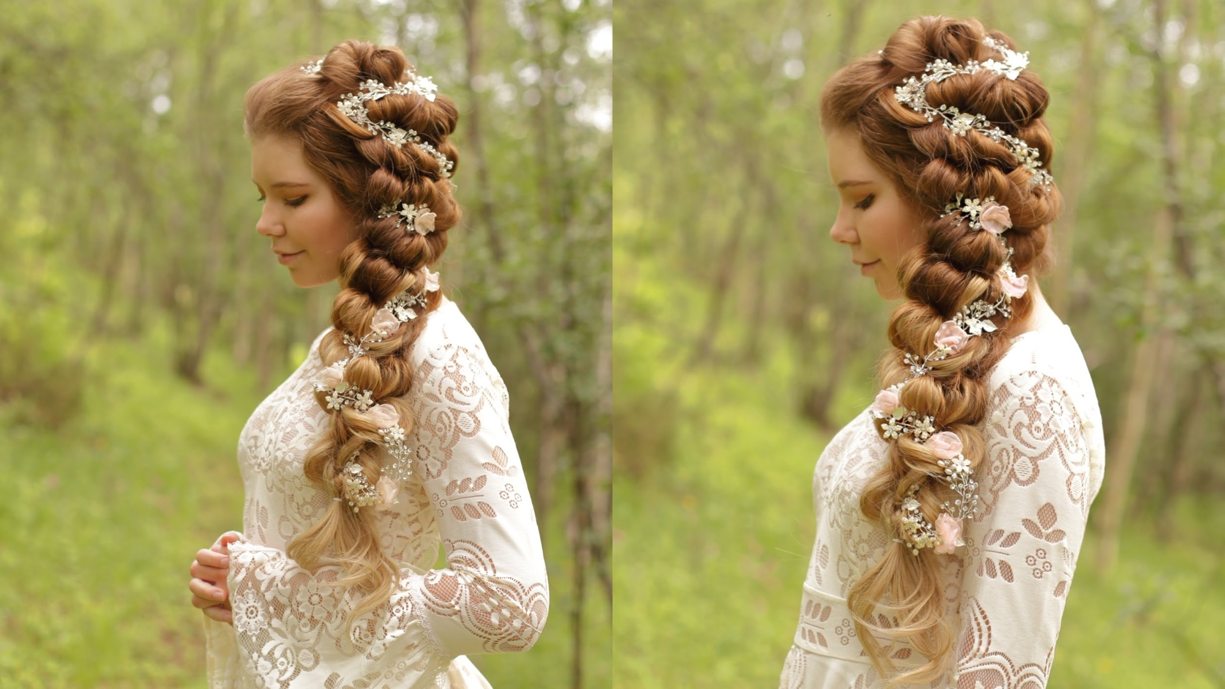 Featured Photo of Side Braid Wedding Hairstyles