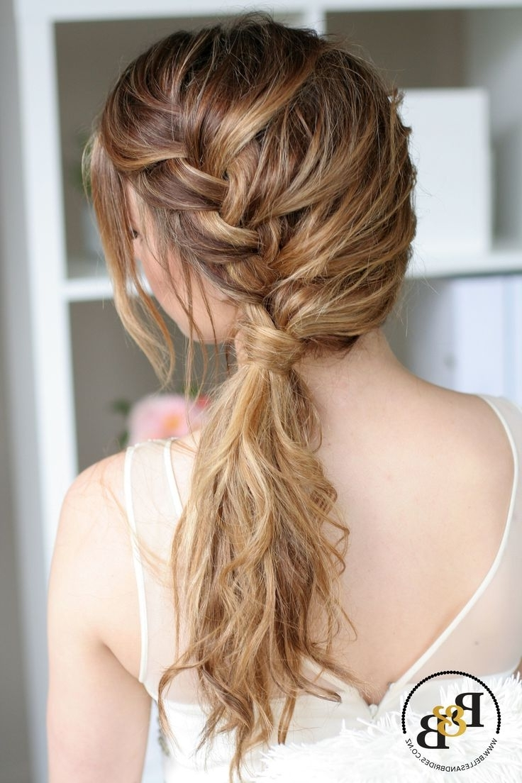 Famous Wedding Hairstyles For Bridesmaids Intended For 172 Best Bridal Hair Braids Images On Pinterest (View 6 of 15)