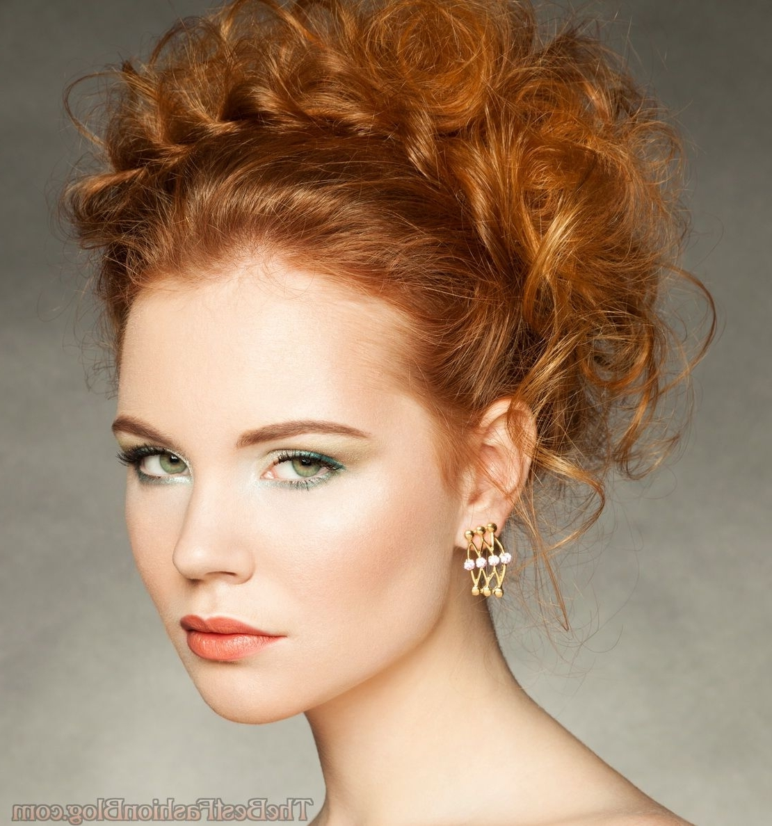 Famous Wedding Hairstyles For Red Hair With Ginger Looks 2018 Gallery 12