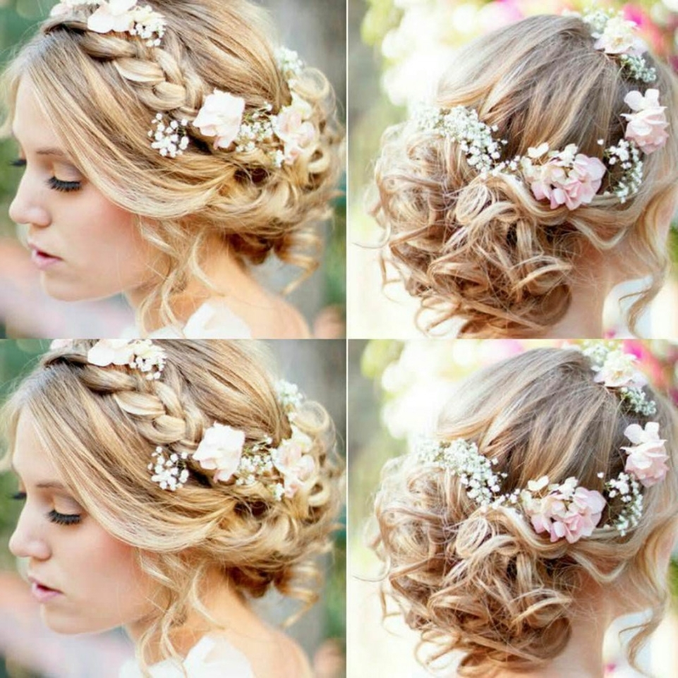 Fascinating Mid Length Wedding Hairstyles For Medium Pics Hair In Most Recent Mid Length Wedding Hairstyles (View 6 of 15)