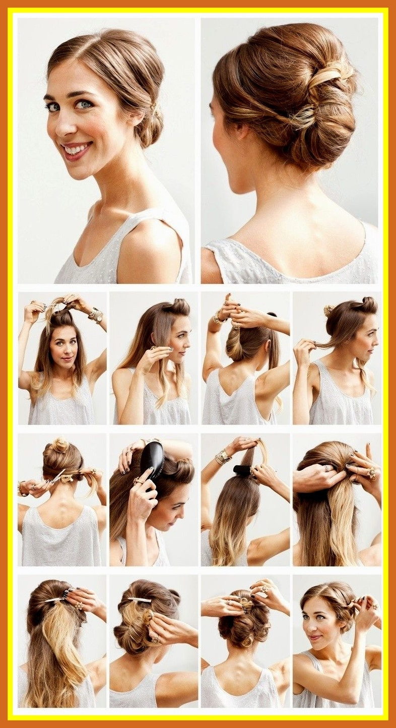 Fascinating Things You Should Do In Easy Hairstyles For Medium Regarding Current Simple Wedding Hairstyles For Shoulder Length Hair (View 2 of 15)