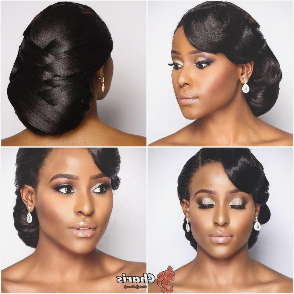 Fashionable Bridesmaid Hairstyles For Short Black Hair For Black Hairstyles : Bridesmaid Hairstyles For Black Hair Tips In Easy (View 5 of 15)
