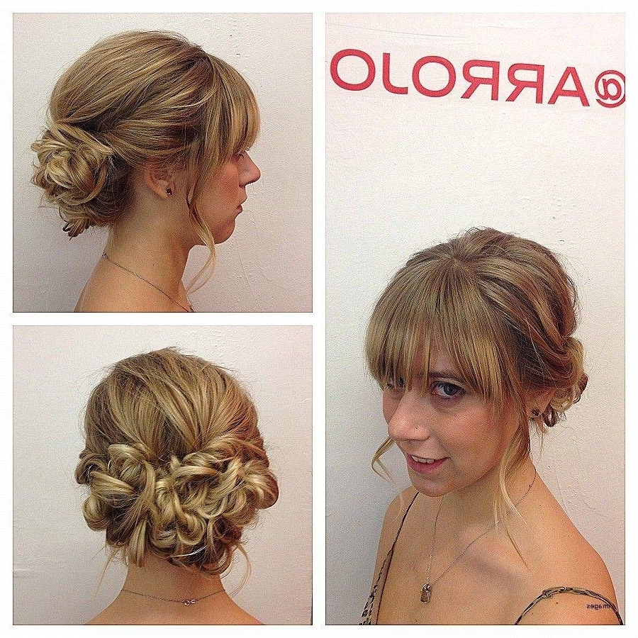 Fashionable Cute Wedding Hairstyles For Short Curly Hair Pertaining To Cute Updo Hairstyles For Short Curly Hair Trending Upstyles Ideas (View 2 of 15)