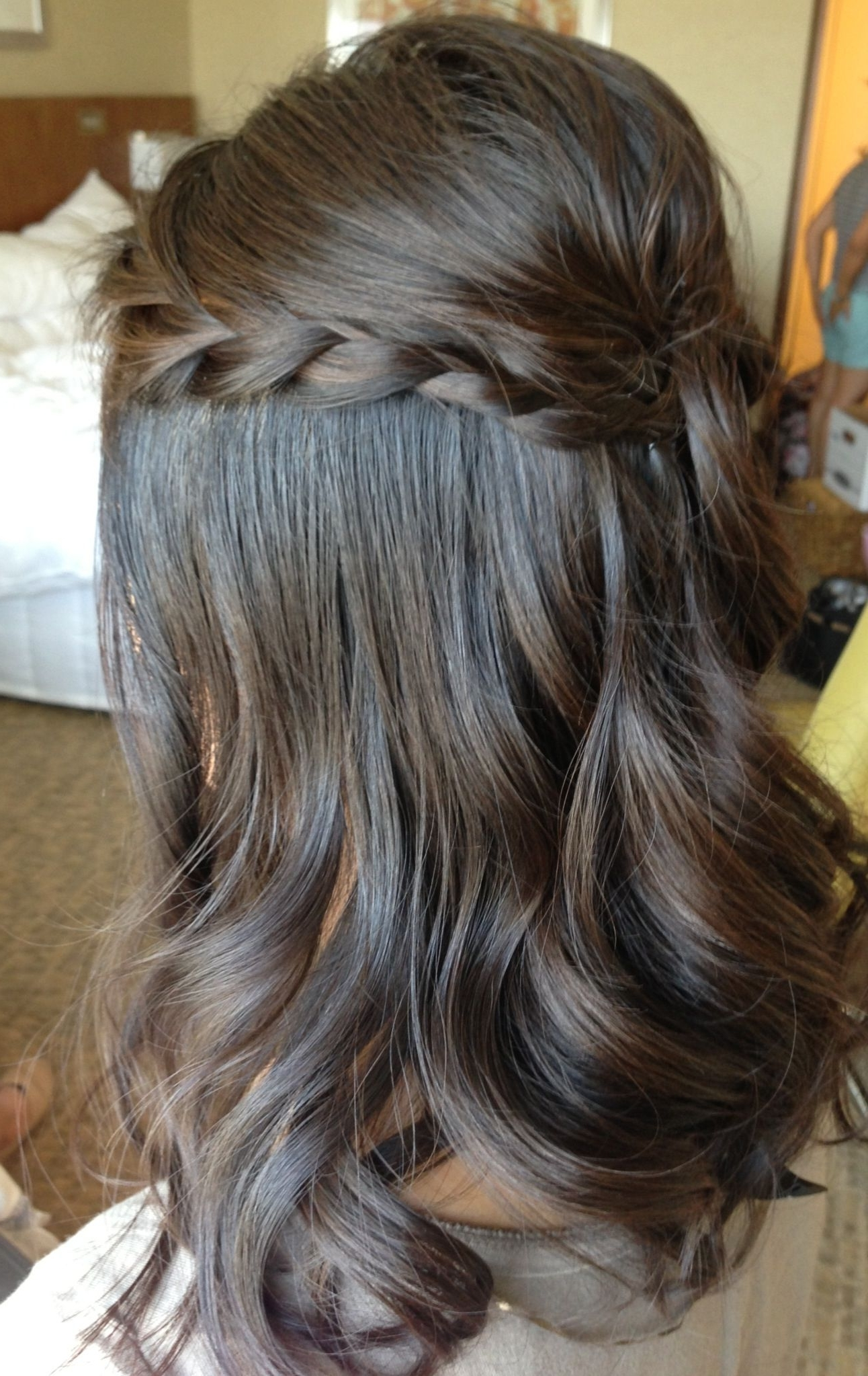 Fashionable Half Up Wedding Hairstyles For Bridesmaids For Wedding Updo, Wedding Hair, Bridal Hair, Braids, Half Up Half Down (View 5 of 15)