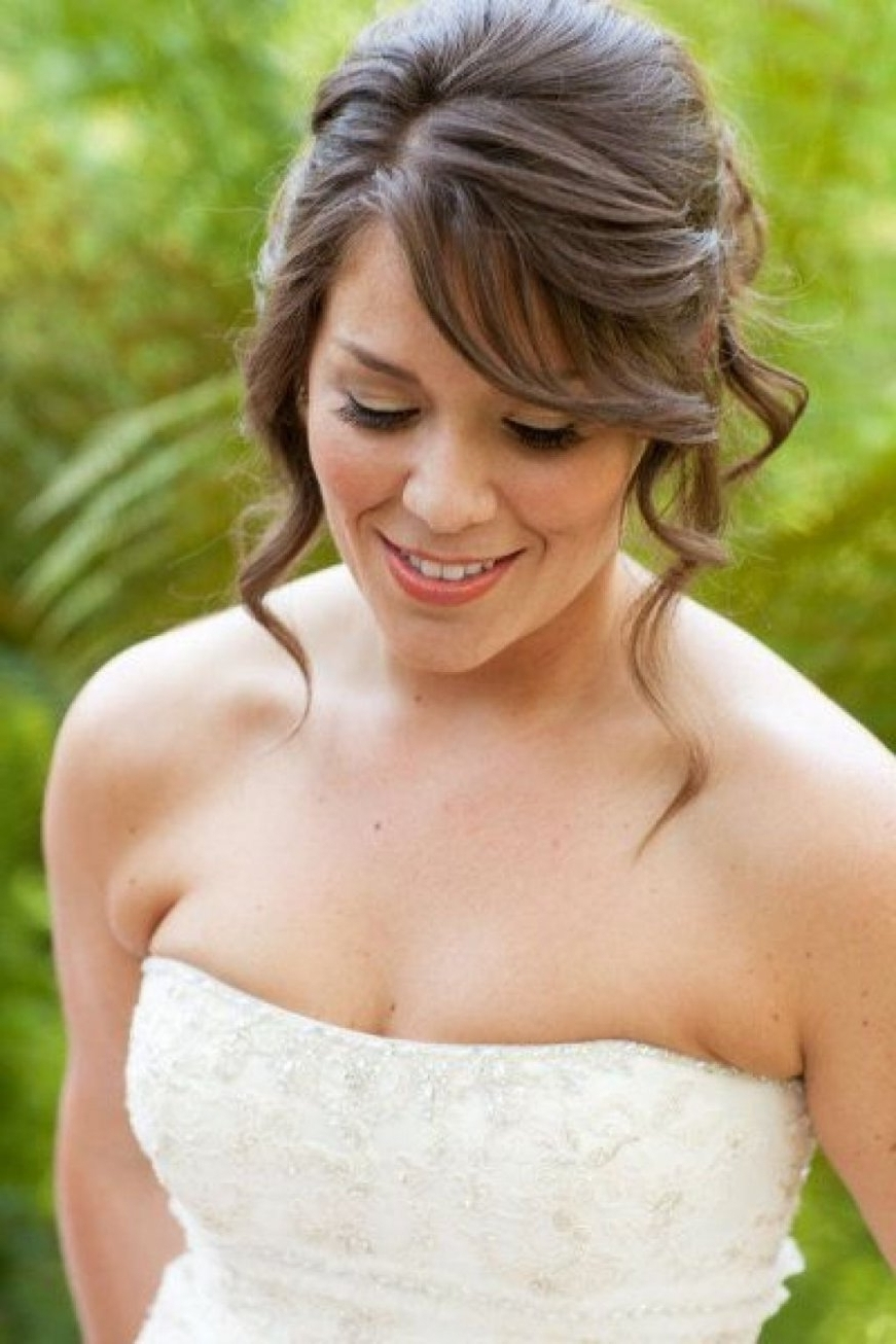 Fashionable Shoulder Length Wedding Hairstyles With Regard To Medium Length Wedding Hairstyles Shoulder Length Hairstyles For A (View 14 of 15)