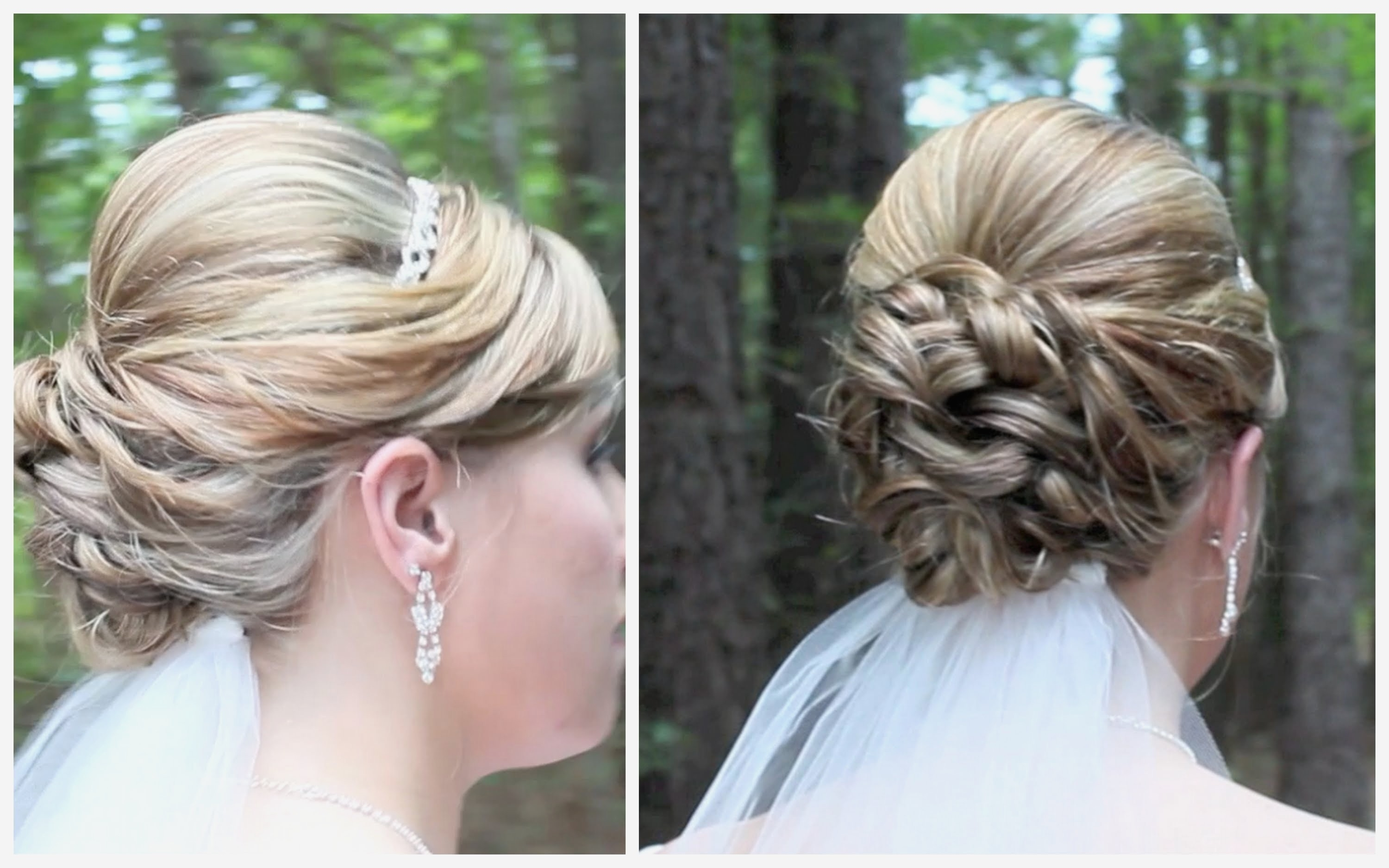 Fashionable Tied Up Wedding Hairstyles Throughout Wedding Hairstyles : Awesome Up Wedding Hairstyles Image Under Hair (View 3 of 15)