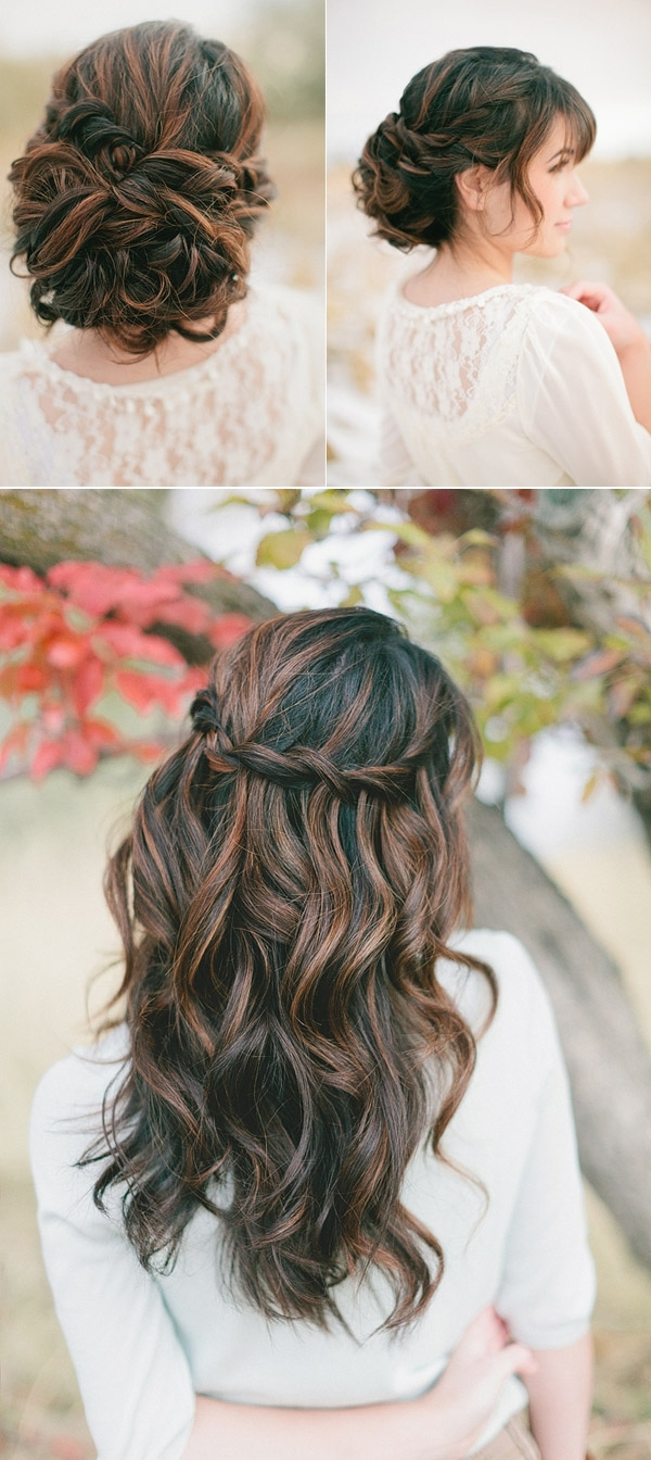 Fashionable Up And Down Wedding Hairstyles For Wedding Hair Up 21 Gorgeous Half Down Hairstyles Babble Wedding Hair (View 11 of 15)