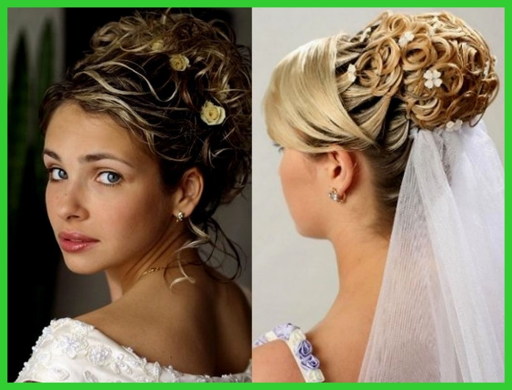 Fashionable Updos Wedding Hairstyles With Tiara For Amazing Wedding Hairstyles Updo With Veil Ideas Pic Of Hair And (View 4 of 15)