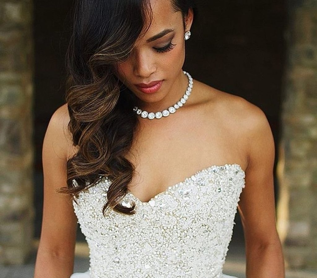 Fashionable Wedding Hairstyles For African American Brides Inside Wedding Hair For Black Bridesmaids Hairstyles African American (View 9 of 15)