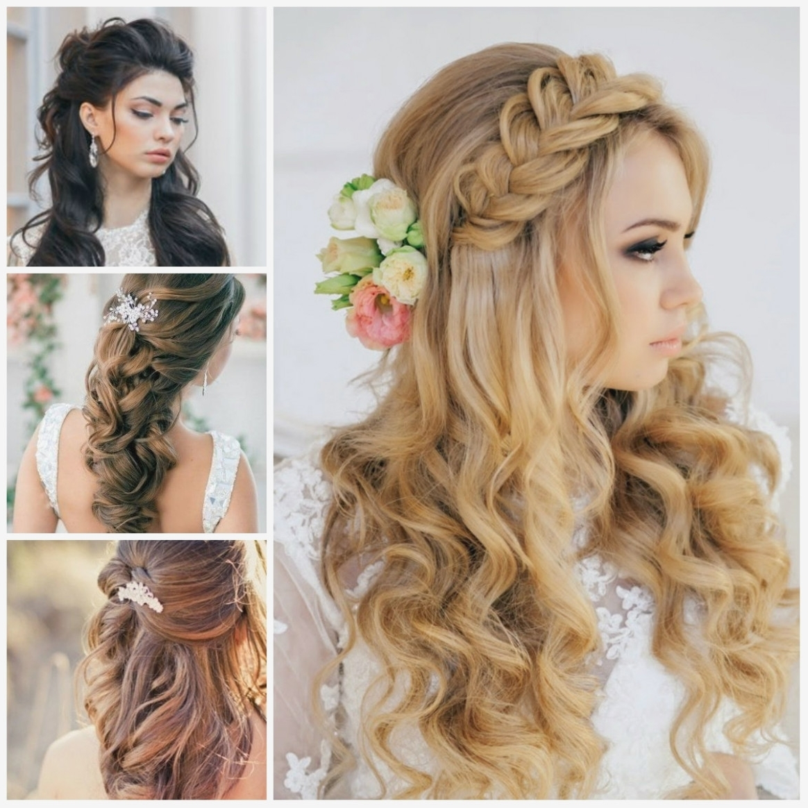 Fashionable Wedding Hairstyles For Medium Length Hair With Side Ponytail Throughout Tag: Wedding Hairstyles For Medium Length Hair Side Ponytail (View 5 of 15)