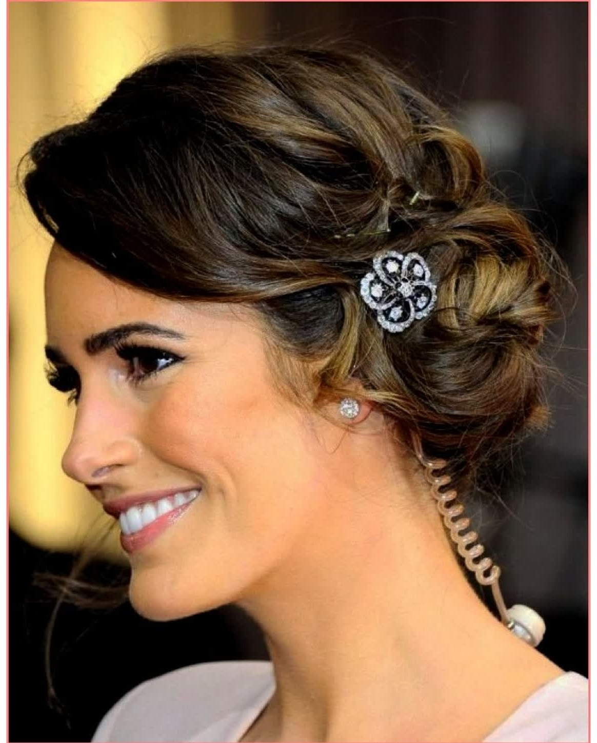 Fashionable Wedding Hairstyles For Round Face Pertaining To Cute Hairstyles Wedding Hairstyles For Short Hair Round Face – Best (View 12 of 15)