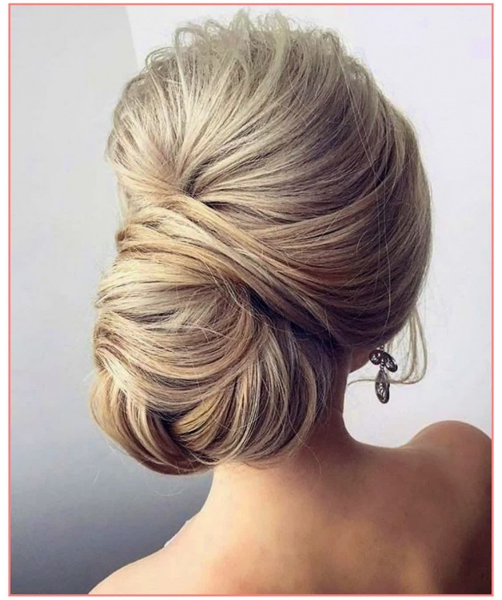 Fashionable Wedding Hairstyles To The Side Intended For Beautiful Hairstyles Wedding Hairstyles Side Chignon – Best (View 5 of 15)