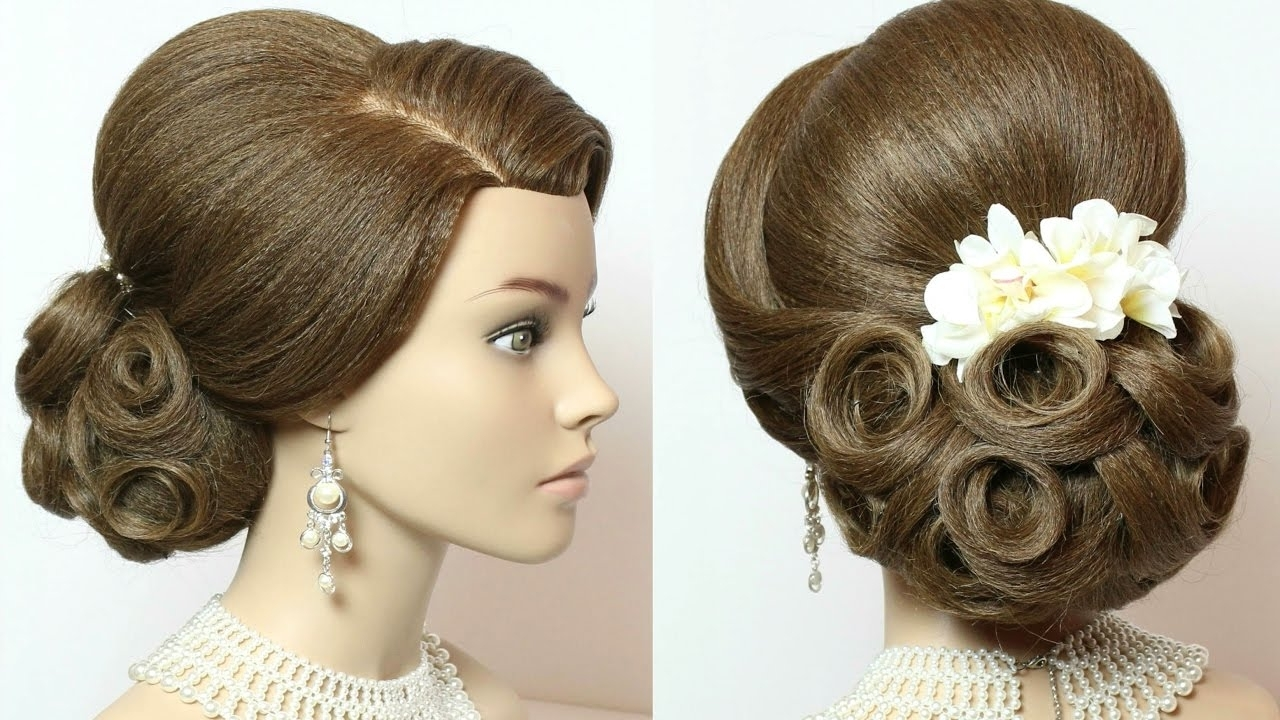 Photo Gallery Of Wedding Hairstyles Updo Tutorial Viewing 5