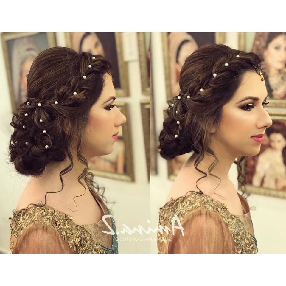 Fashionglint Intended For Current Pakistani Wedding Hairstyles (View 11 of 15)