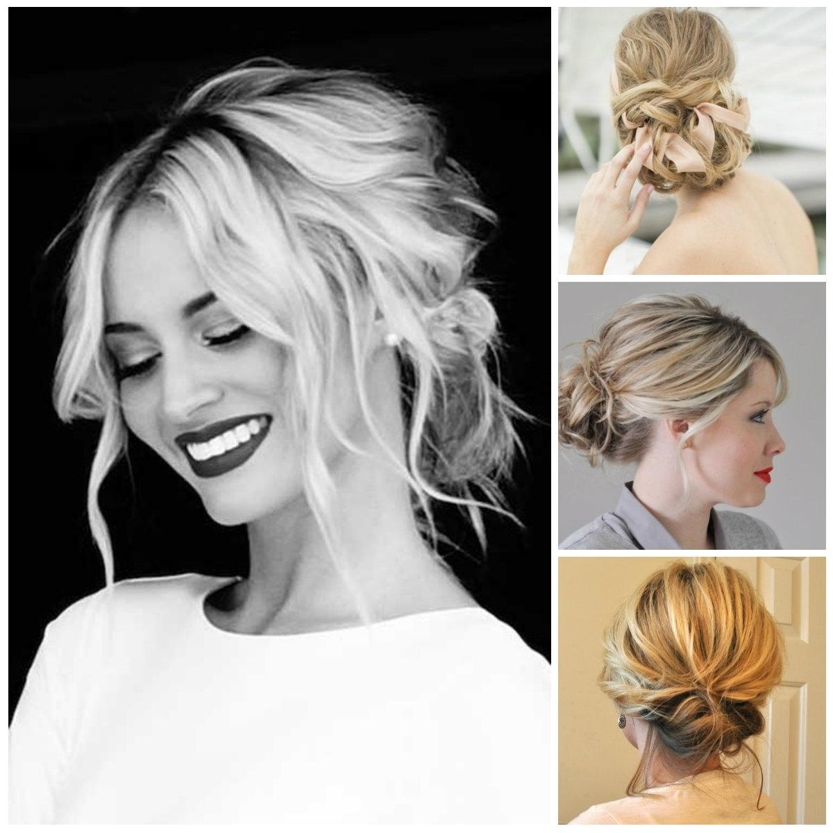Favorite Medium Length Updo Wedding Hairstyles Intended For Updo Hairstyles For Medium Length – Hairstyle For Women & Man (View 3 of 15)