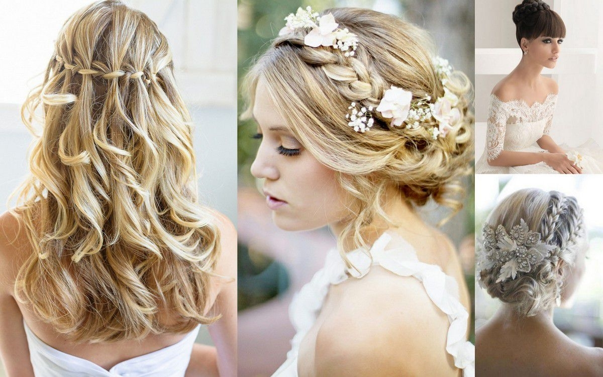 Favorite Wedding Hairstyles For Bridesmaids With Medium Length Hair For Inspiring Bridal Hairstyles Sirmione Wedding Pic For Bridesmaids (View 6 of 15)