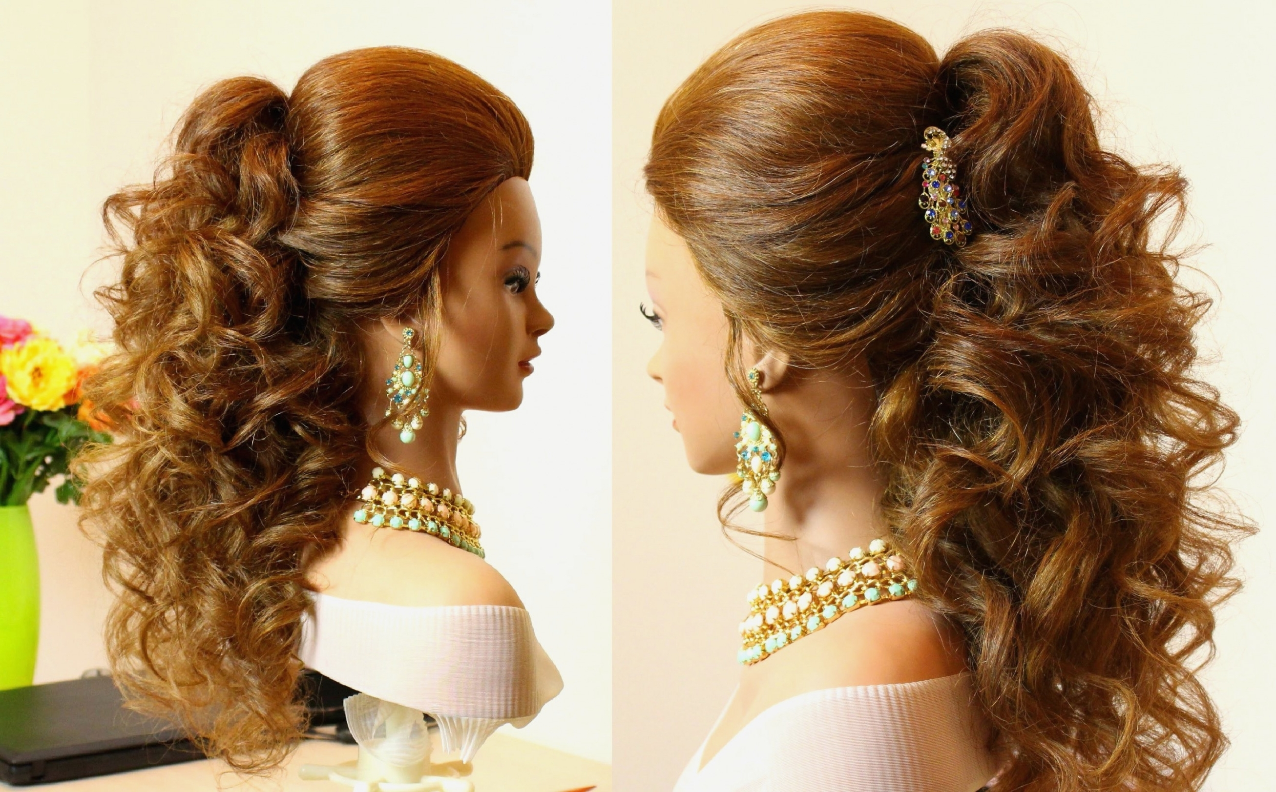 Favorite Wedding Hairstyles For Very Long Hair With Regard To Long Hairstyles : Creative Indian Wedding Hairstyle For Long Hair (View 8 of 15)