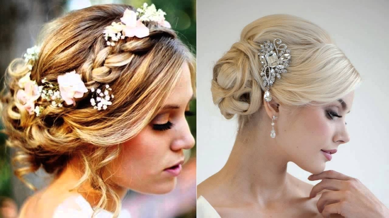 Favorite Wedding Hairstyles With Fringe Pertaining To Wedding Hair Up With Fringe Salon Hartley Kent – Youtube (View 9 of 15)