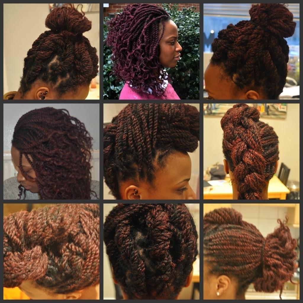Favorite Wedding Hairstyles With Kinky Twist Regarding Updo Hairstyles For Kinky Twist Kinky Twist Braid Hairstyles Urban (View 6 of 15)