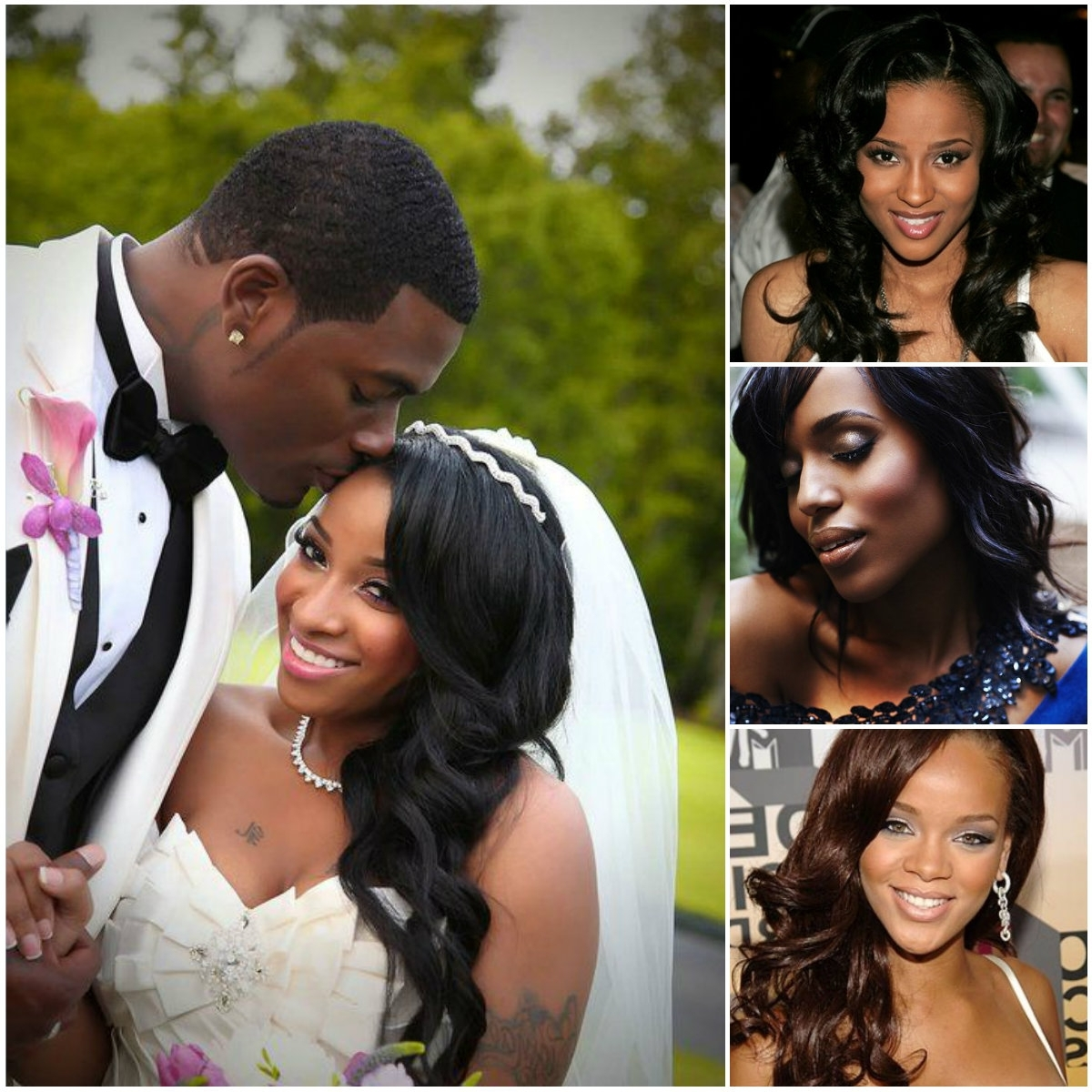 Favorite Wedding Hairstyles With Weave With Regard To Wedding Hairstyles For Africa Americans Long Weave Hairstyles For (View 8 of 15)