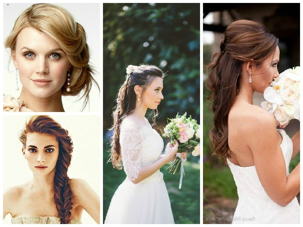 Featured Photo of Wedding Hairstyles For Long Hair And Oval Face