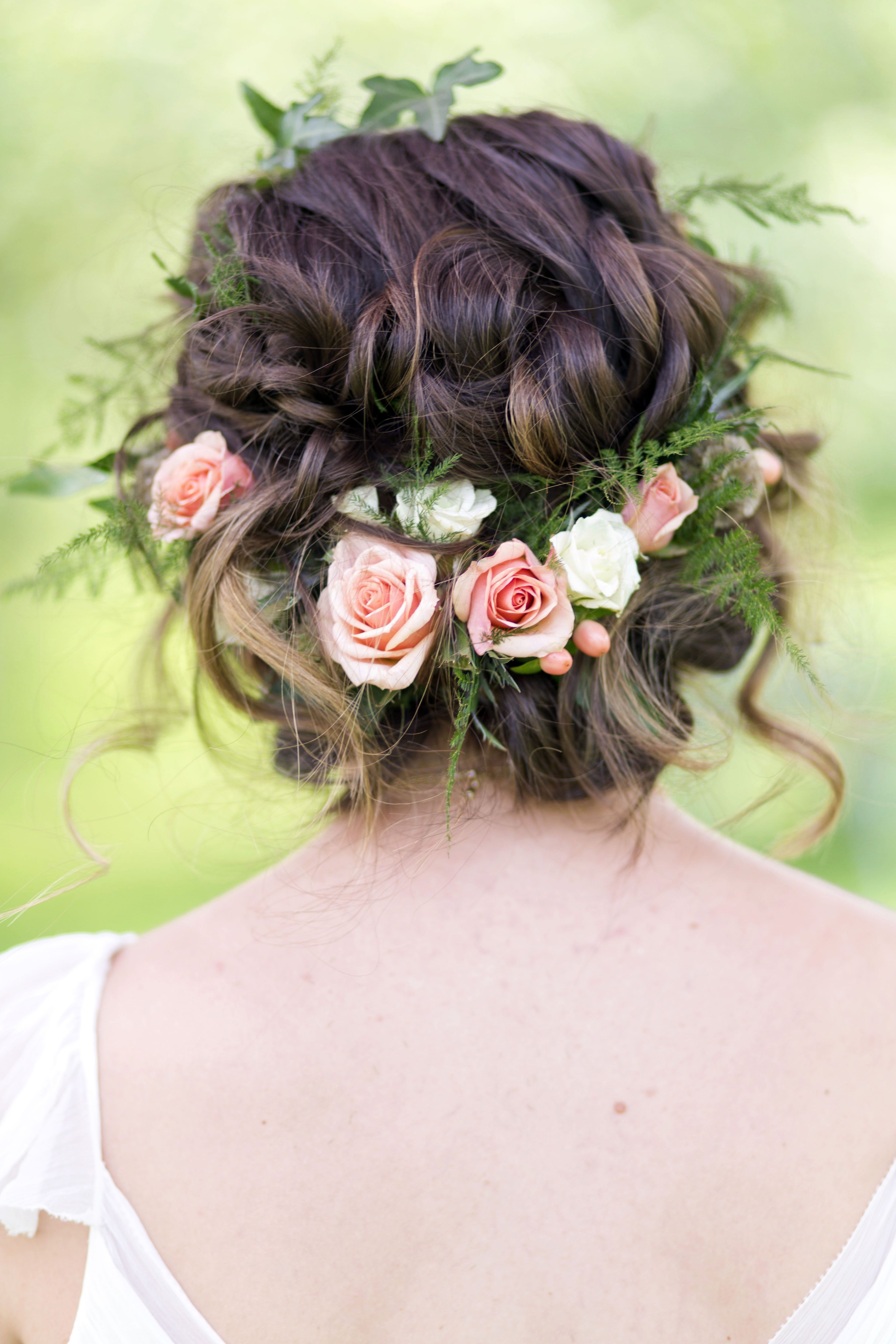 Flower Throughout Well Known Roses Wedding Hairstyles (View 7 of 15)