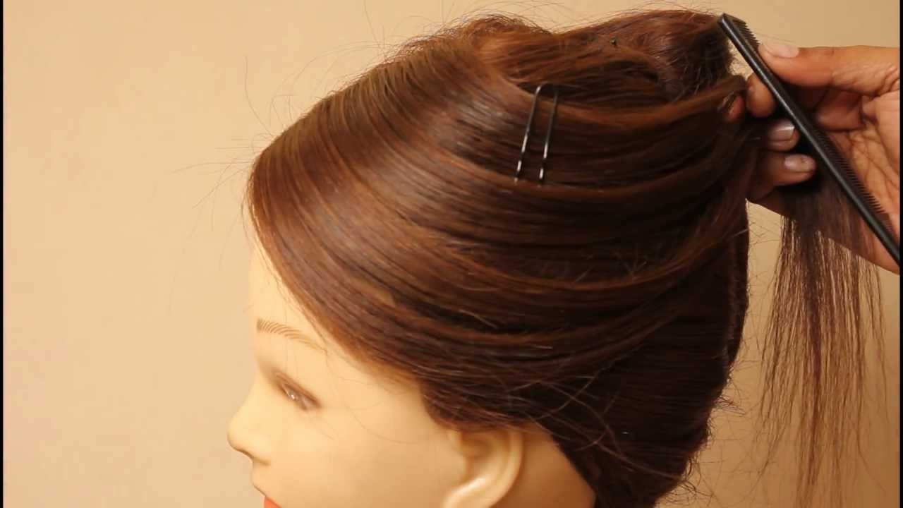 French Knot Hairstylesestherkinder – Youtube For Famous Wedding Hairstyles By Esther Kinder (View 7 of 15)
