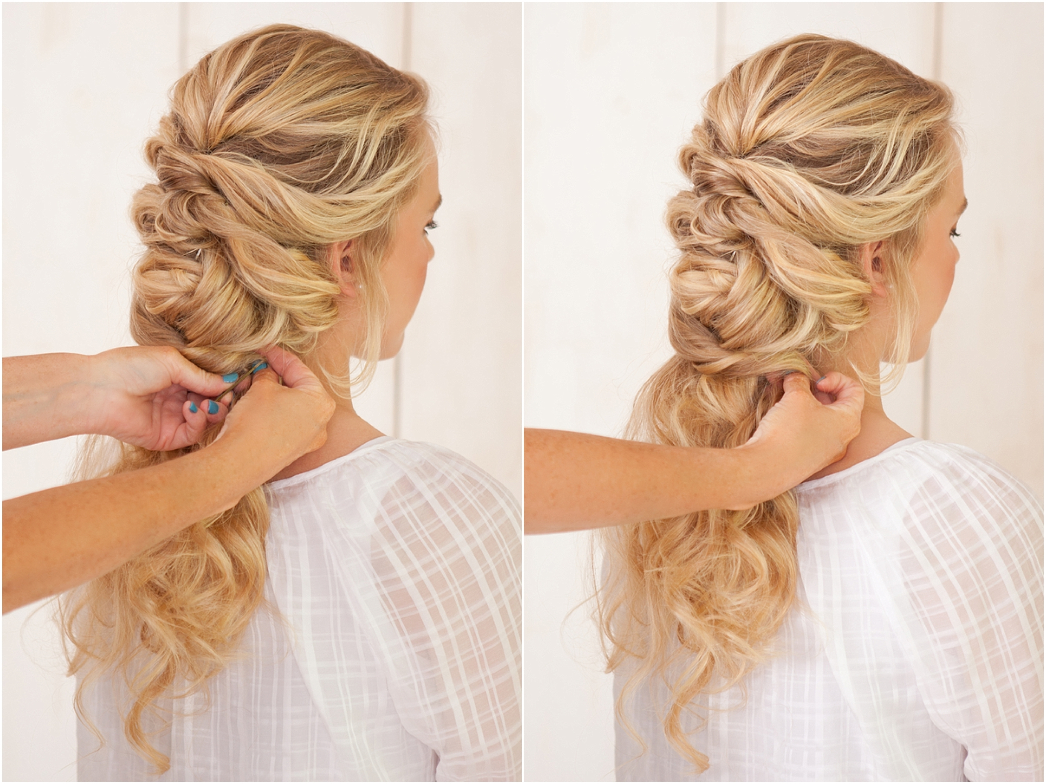 French Roll Hairstyle For Wedding French Braid Wedding Hairstyle The Within Fashionable Roll Hairstyles For Wedding (View 7 of 15)