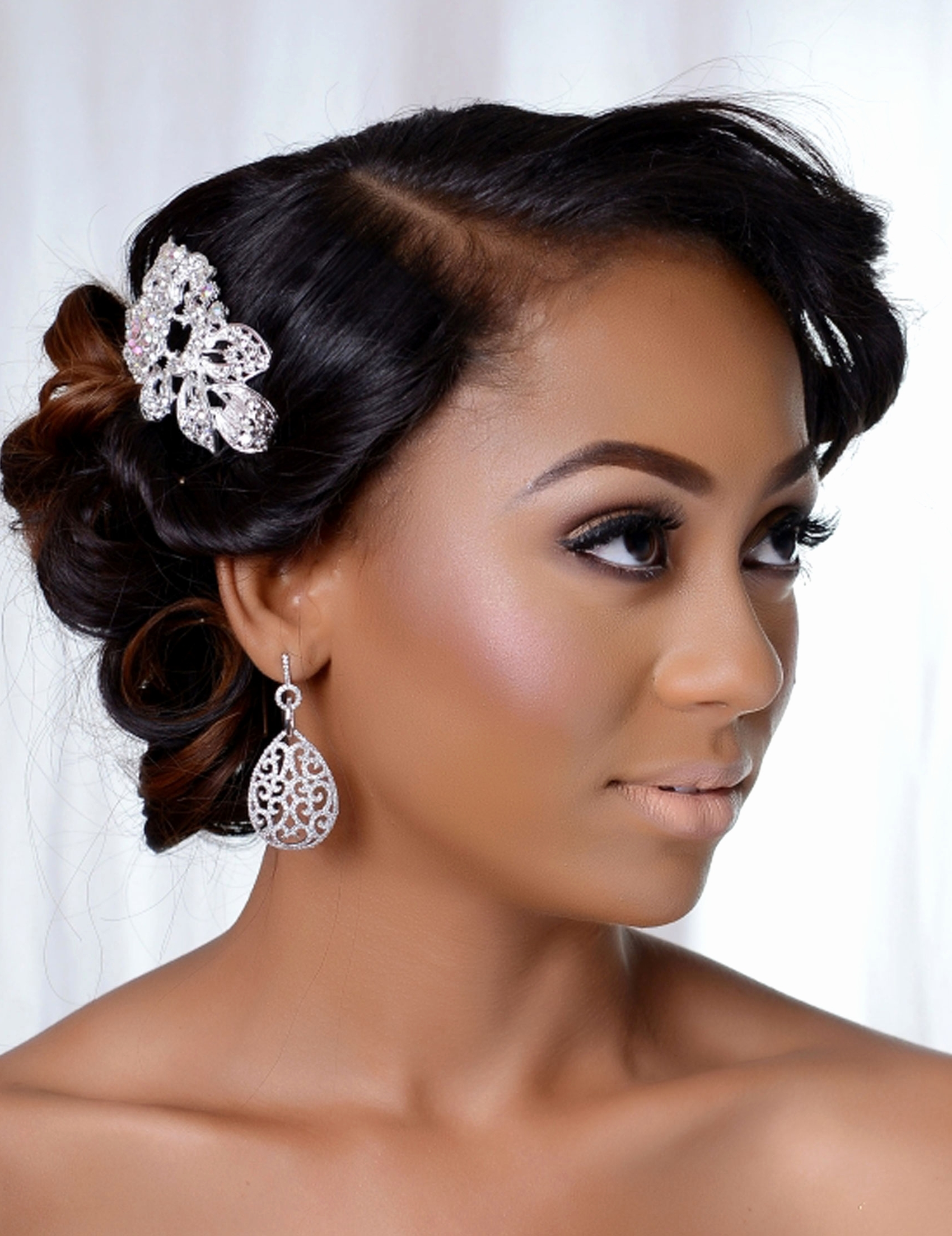 Fresh Nigerian Wedding Hairstyle – Hair Inspiration Intended For 2018 Nigerian Wedding Hairstyles For Bridesmaids (View 10 of 15)
