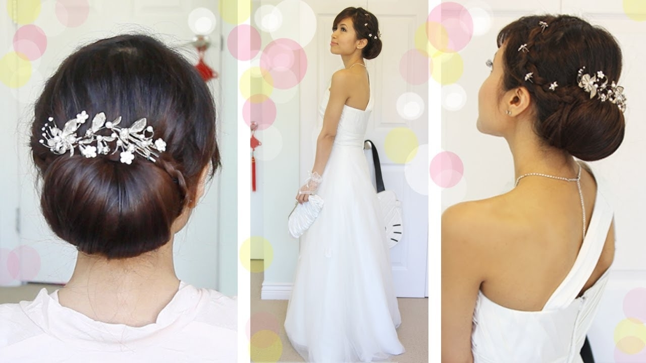 Get Ready With Me Wedding Edition: Classic Bridal Updo – Youtube Regarding Most Recently Released Classic Wedding Hairstyles (View 8 of 15)
