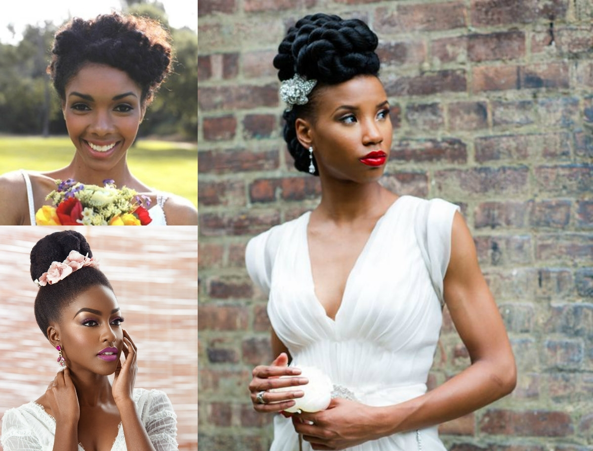 Get To Know Natural Hair Wedding Hairstyles  (View 4 of 15)