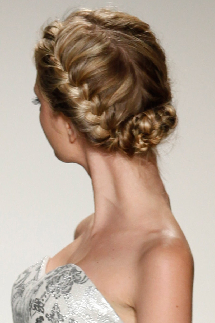 Gorgeous Braided Wedding Hairstyles Bridalguide Easy Of Wedding With Regard To Well Liked Braided Wedding Hairstyles (Gallery 9 of 15)